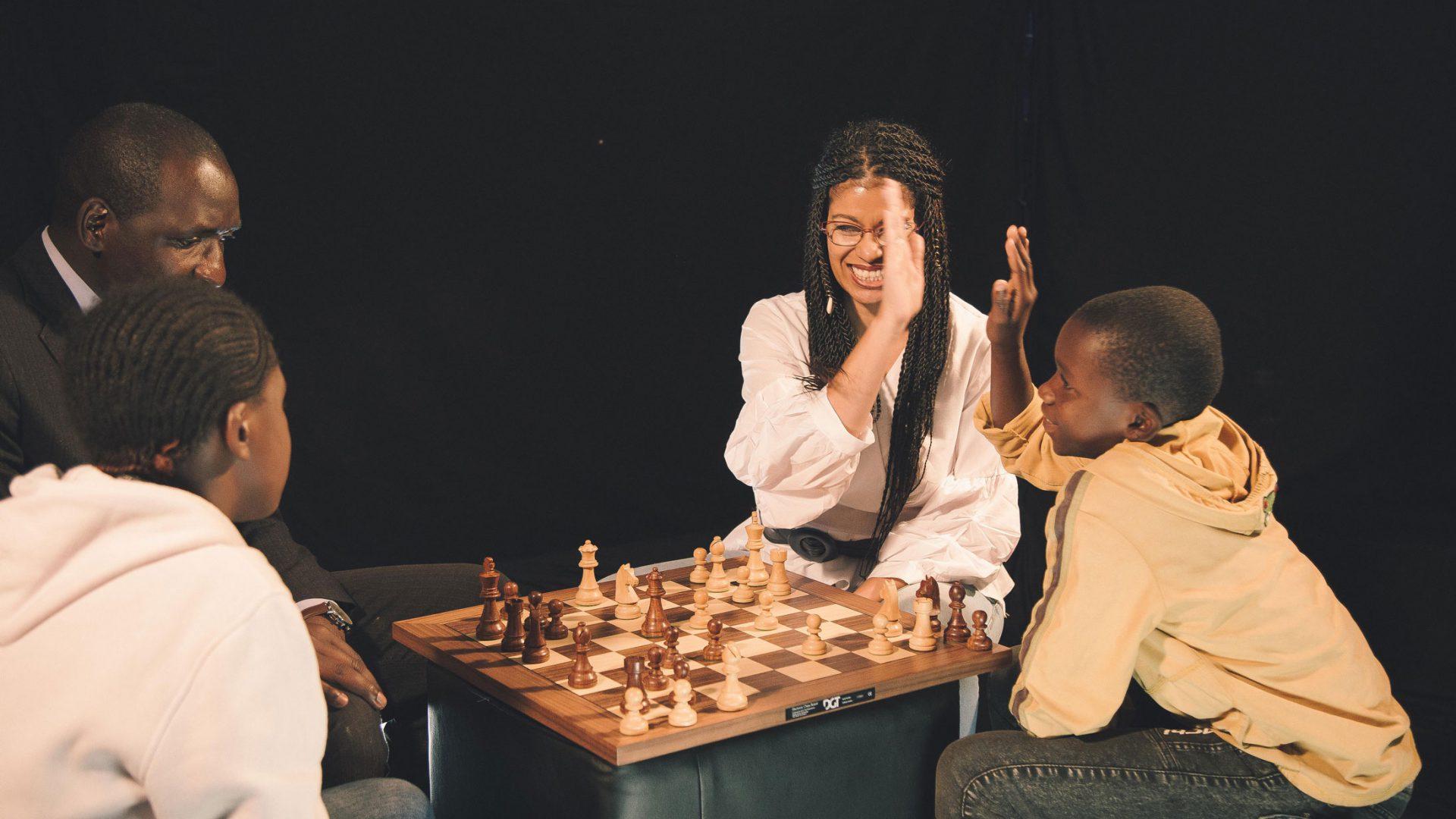 Business Meets Chess & Kids